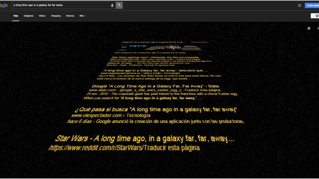 Google y Star Wars