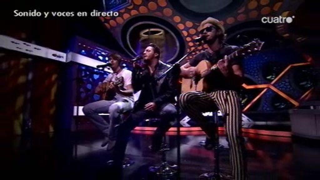 Fondo Flamenco canta en directo en El Hormiguero