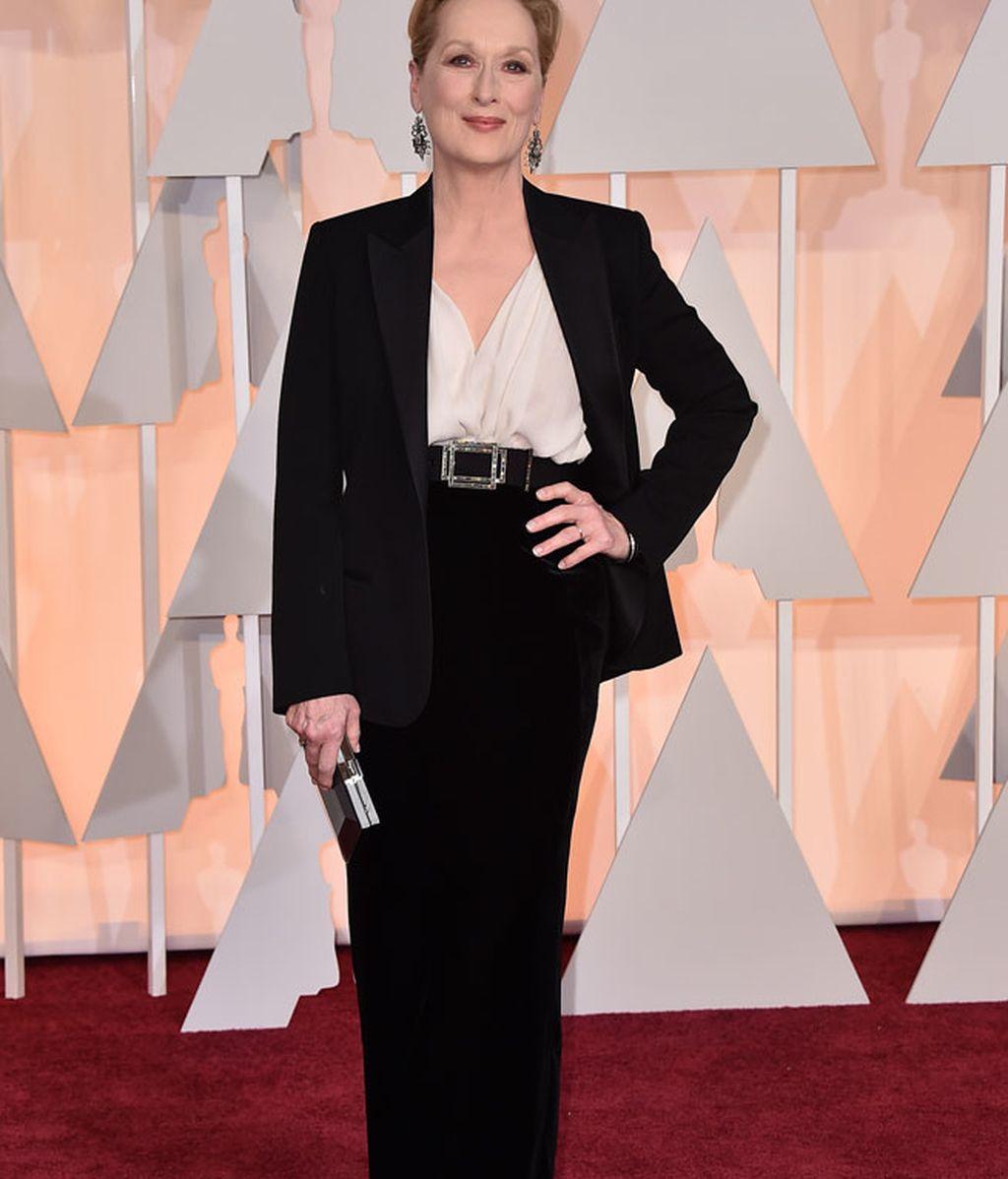 Meryl Streep vestida de Lanvin