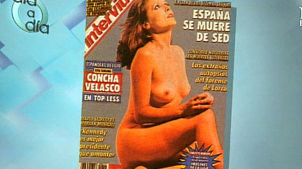 El top-less de Concha Velasco