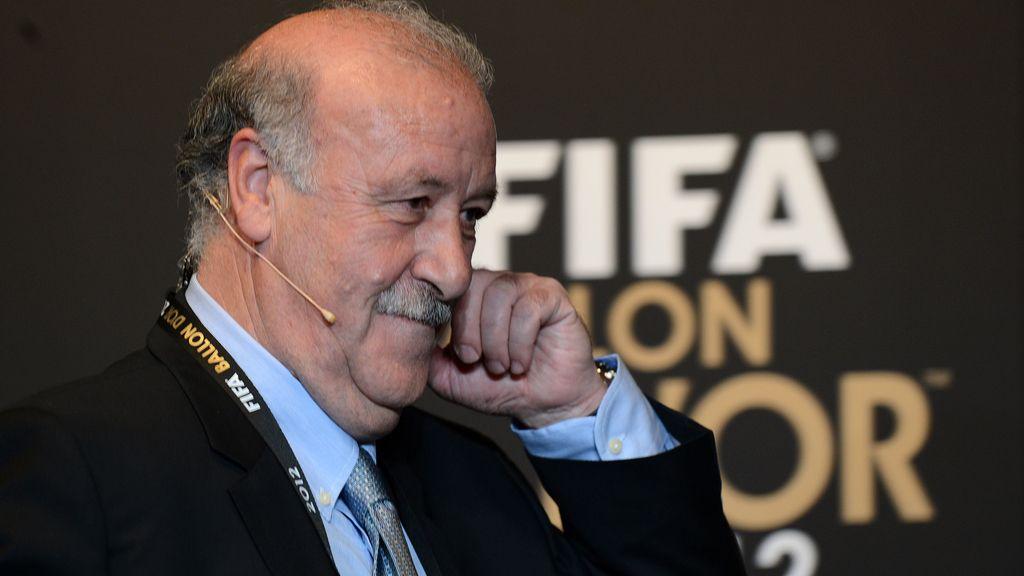 Vicente del Bosque fue elegido como mejor entrenador del año por la FIFA