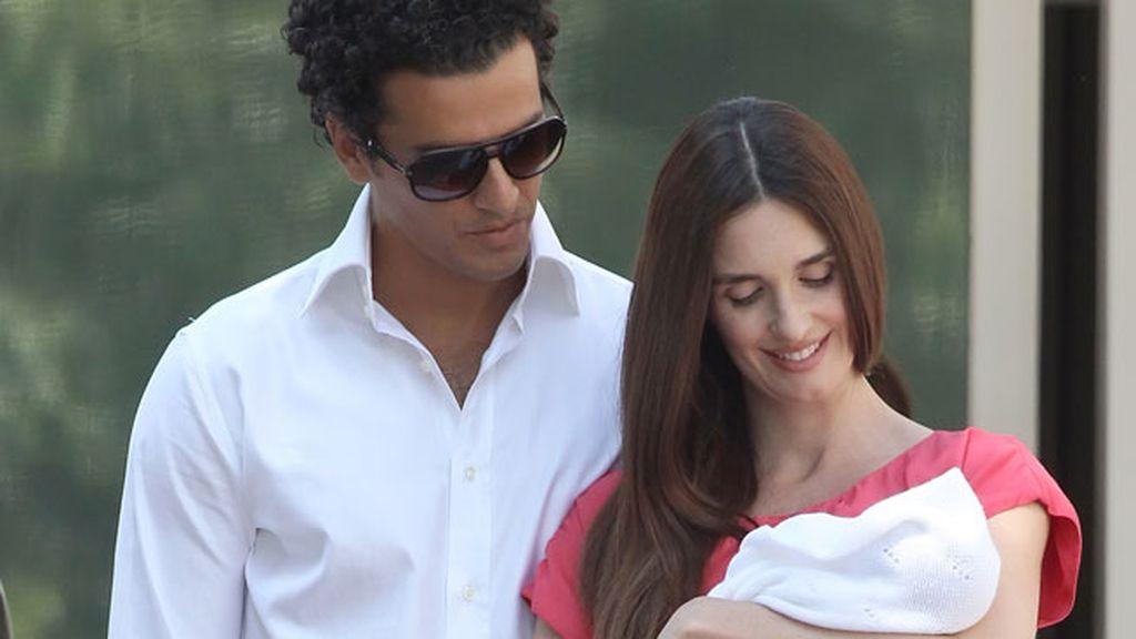 Paz Vega y Orson Salazar tienen tres hijos