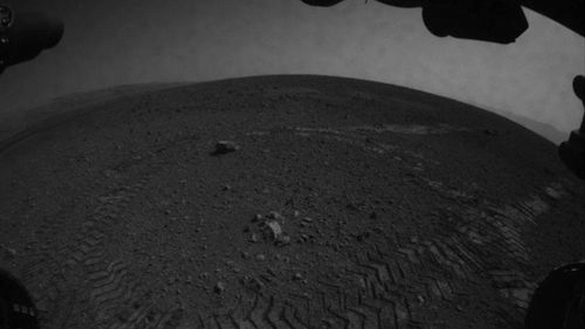 Curiosity recorre su primer kilómetro en Marte