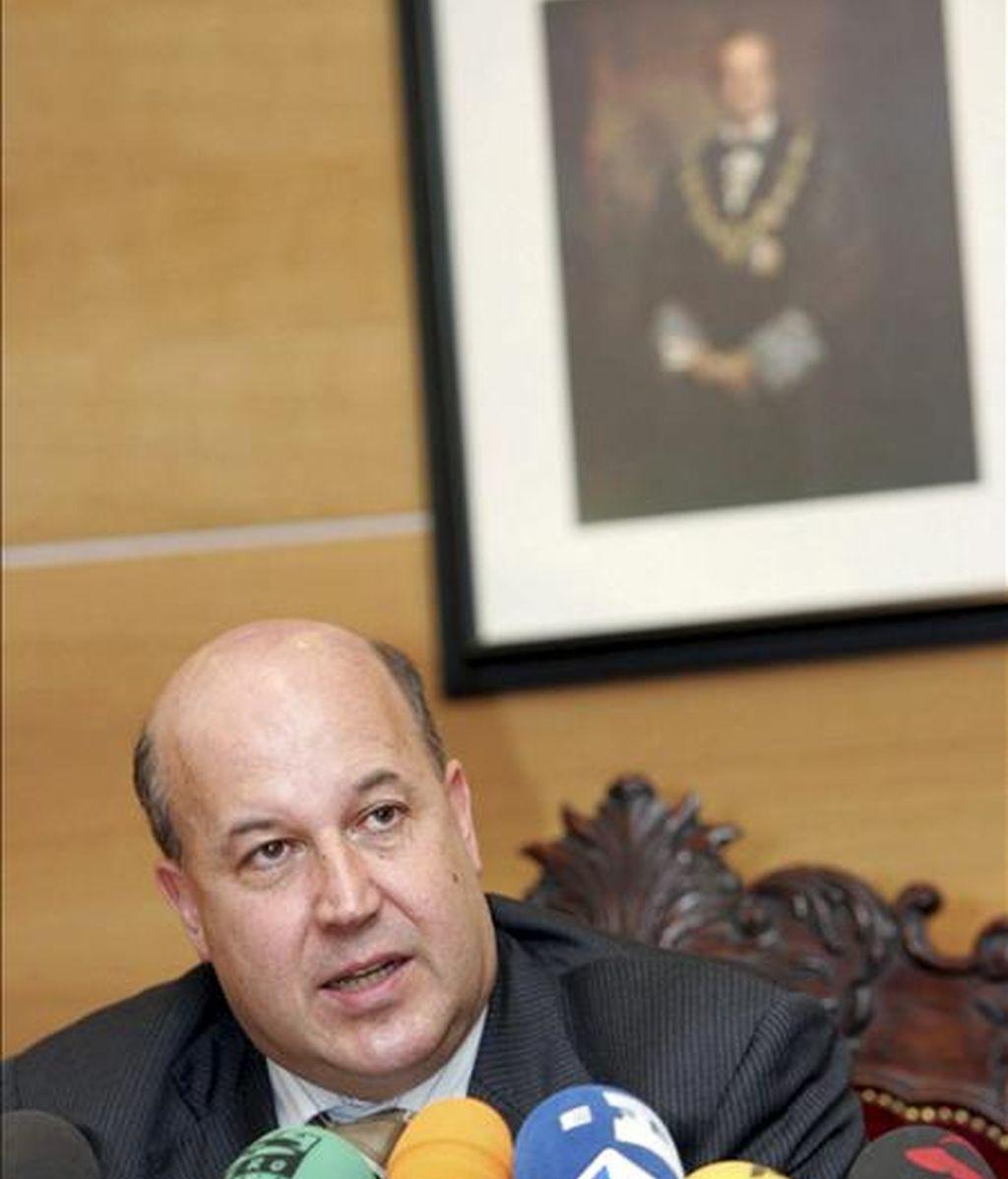 El fiscal jefe del Tribunal Superior de Justicia del País Vasco, Juan Calparsoro. EFE/Archivo