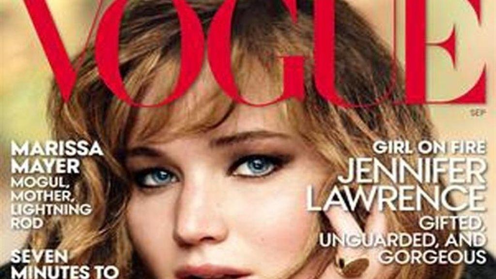 """Jennifer Lawrence protagoniza la portada de Vogue Septiembre: """"Siempre supe que sería famosa"""""""