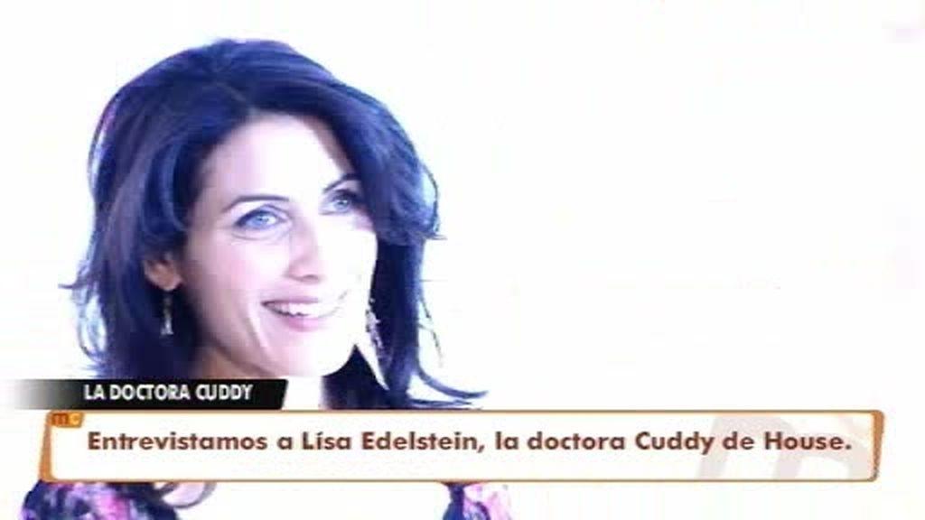 Lisa Edelstein hace un diagnóstico en Las Mañanas