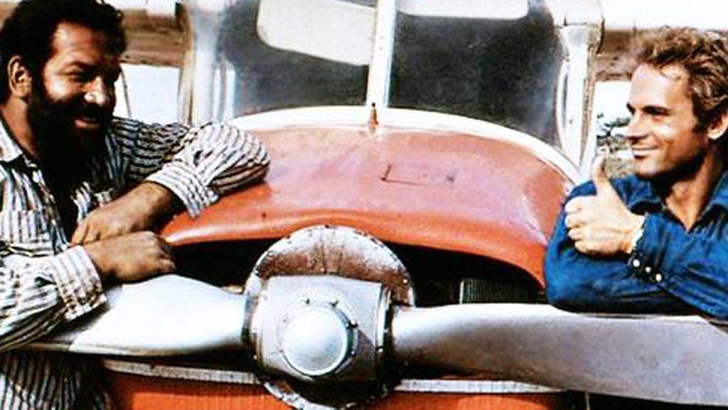 La trayectoria de Bud Spencer, en imágenes