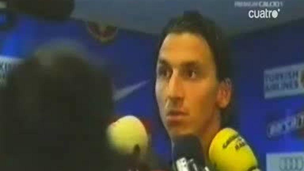 Entre Ibrahimovic y Guardiola no hay feeling