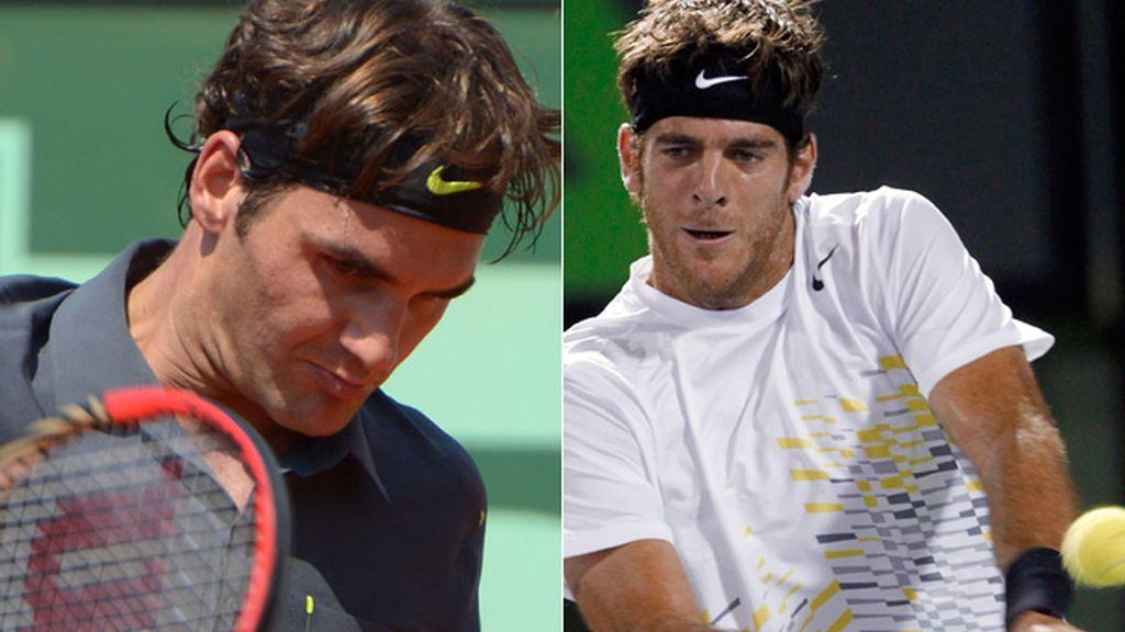 Roger Federer- Juan Martín del Potro