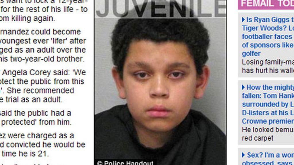 El menor acusado de matar a su hermano de un golpe