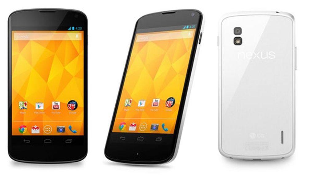 ,Nexus 4 blanco