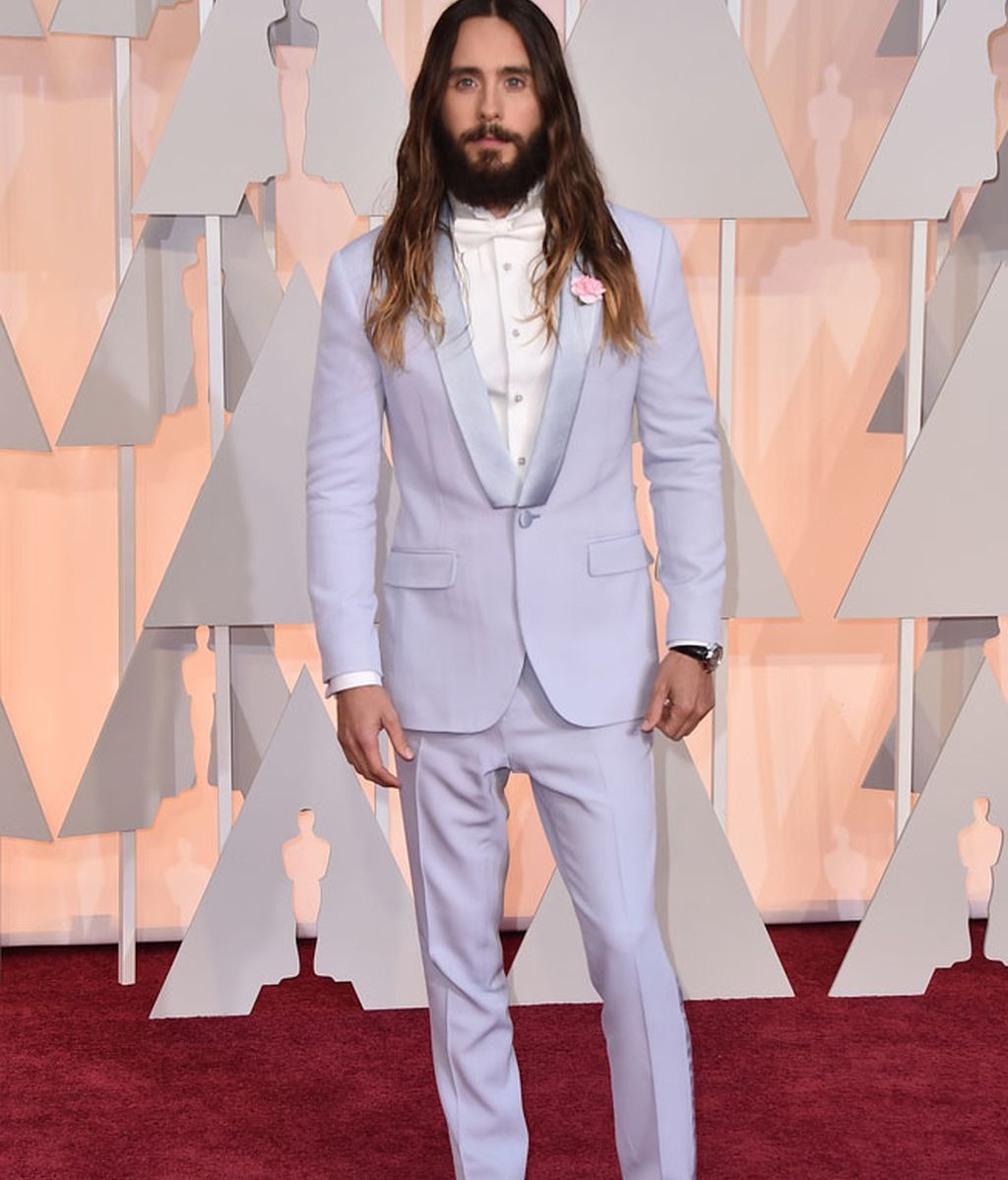 Jared Leto, el más original de la alfombra roja de los Oscar