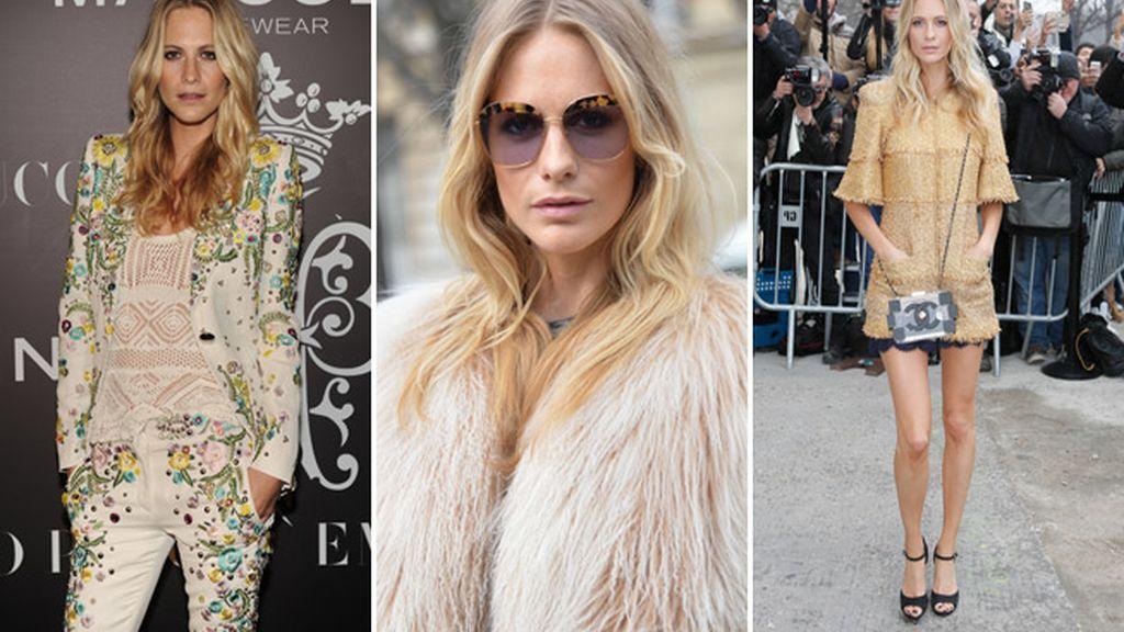 Poppy Delevingne cambia los Chanel por la Edad Media