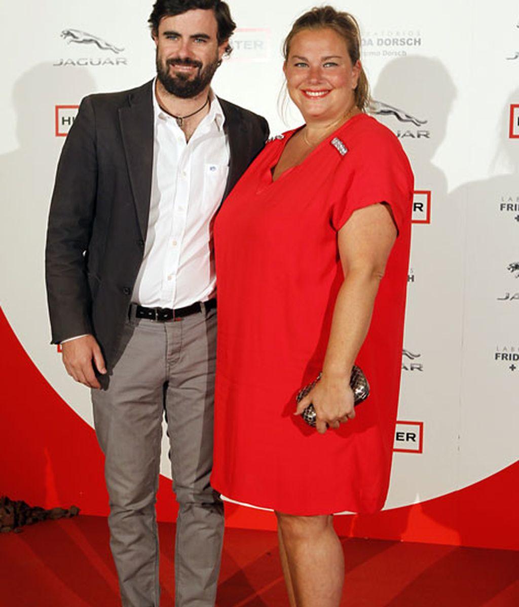 Caritina Goyanes junto a su marido Antonio Matos