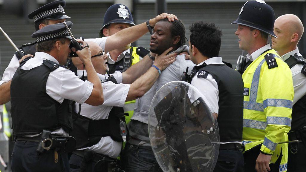 Los disturbios en Londres, en imágenes