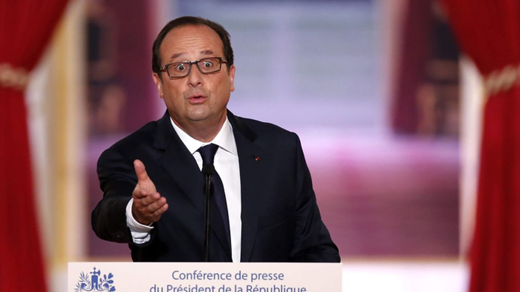 Hollande anuncia bombardeos sobre Irak
