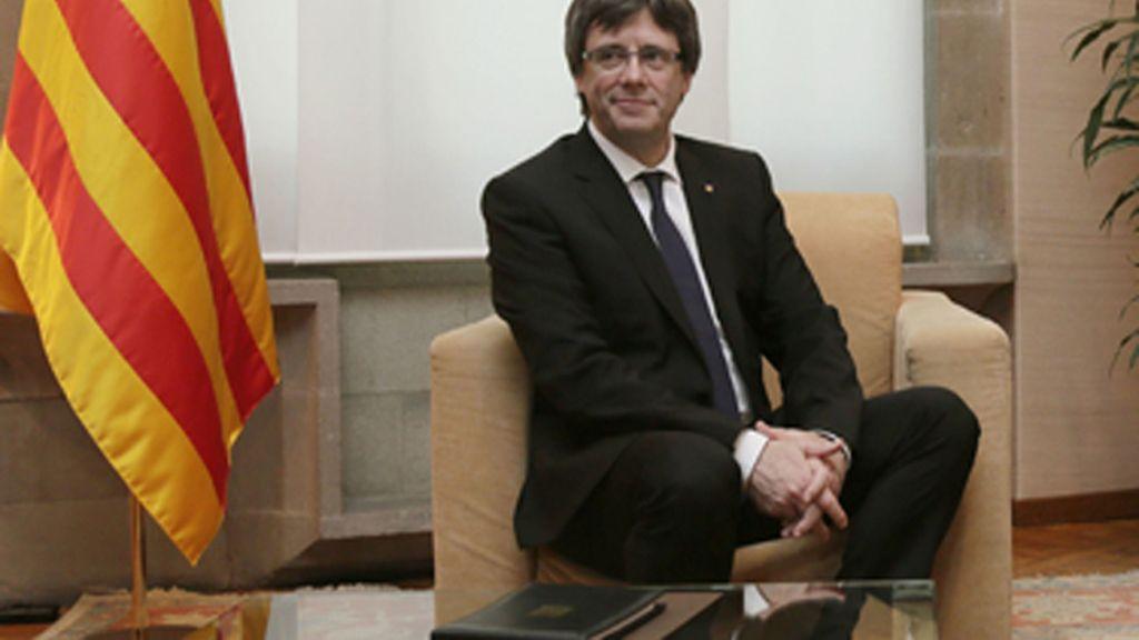 Puigdemont no irá a la final de la Copa del Rey por la prohibición de esteladas