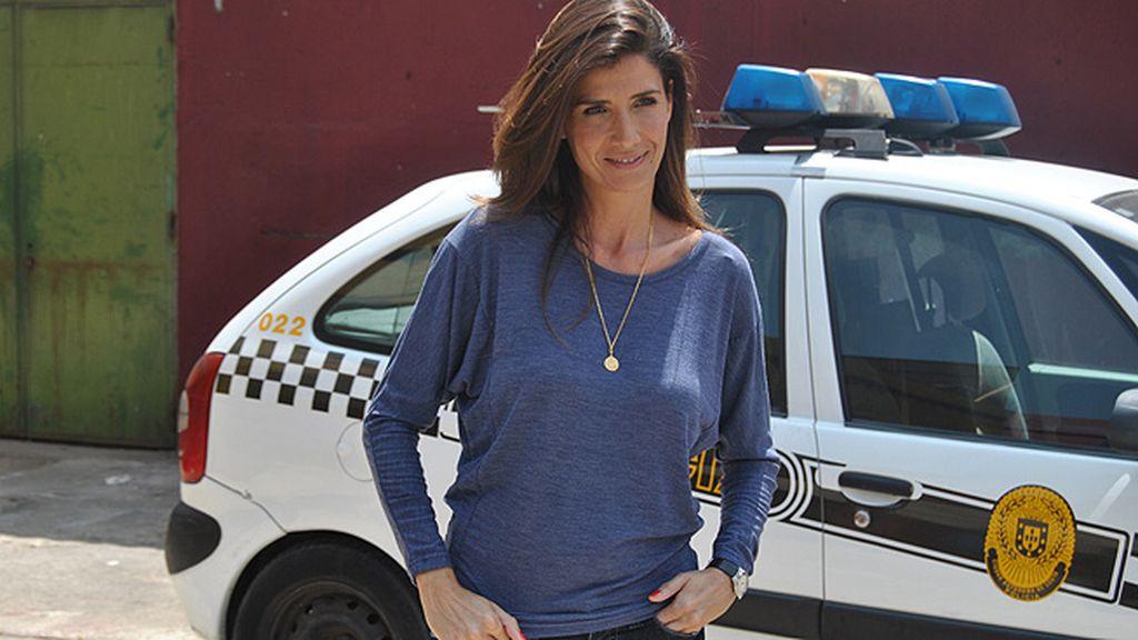 Raquel (Elia Galera), la mujer de Fran