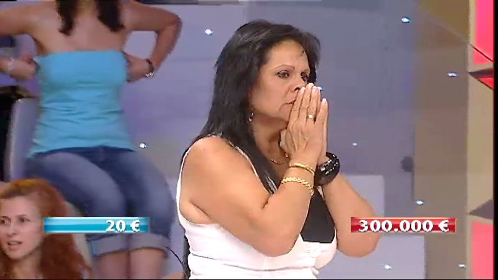 Mari gana los 300.000 euros de 'Allá tú'