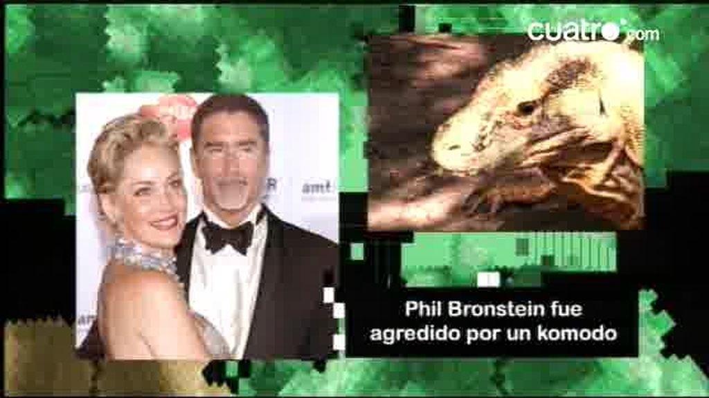 ¿Qué le pasó al marido de Sharon Stone con un dragón de Komodo?