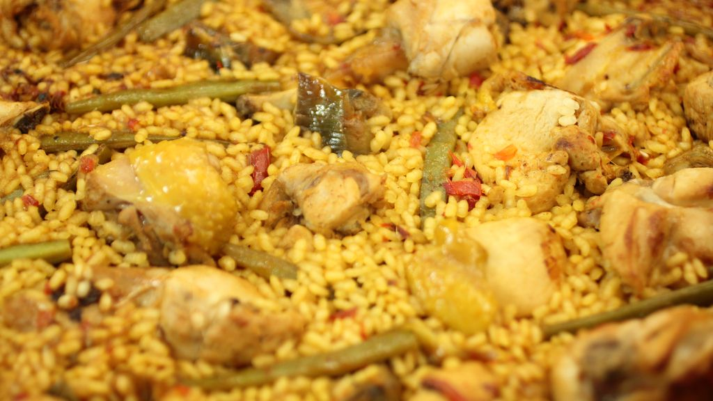 Paella valenciana en 'Robin Food'