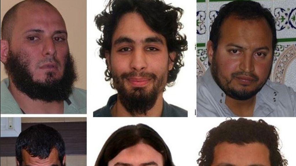 Los seis yihadistas detenidos