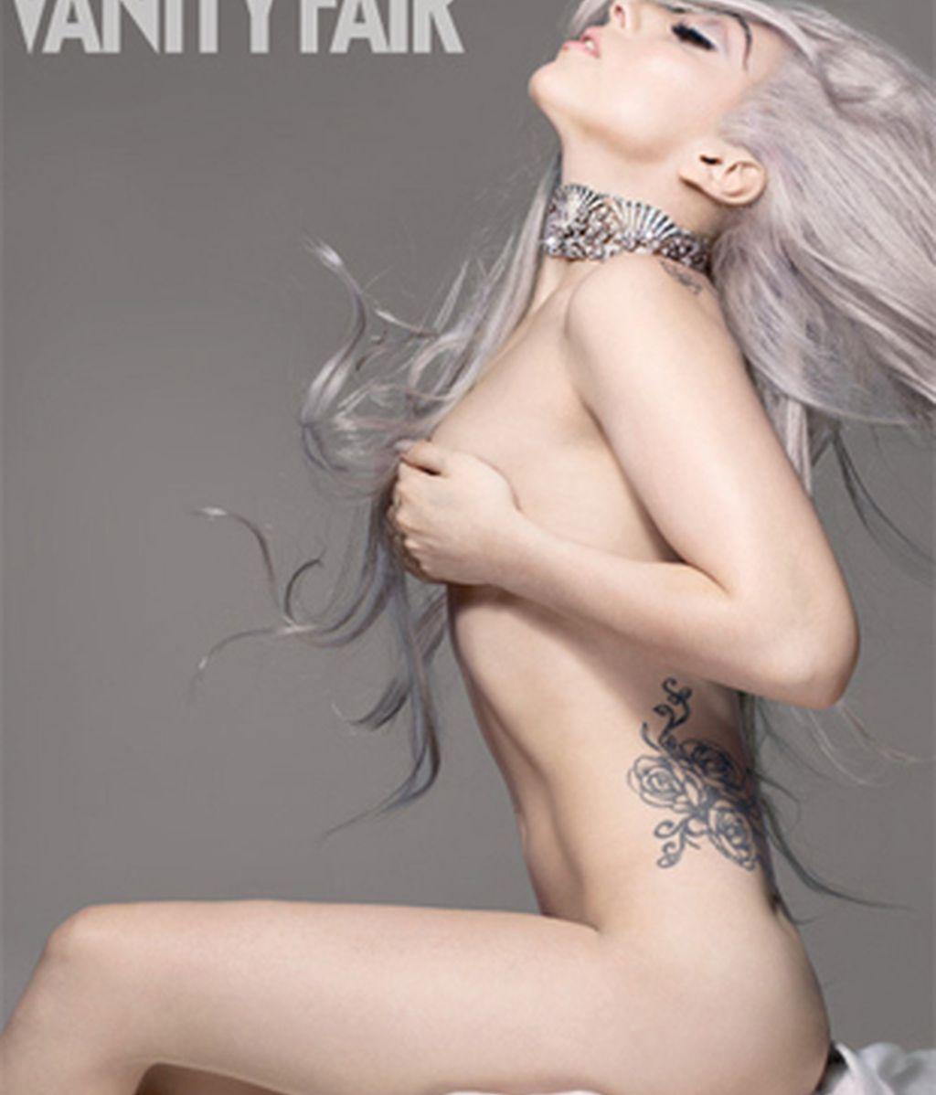 ¿Perderá mucha creatividad en el futuro Lady Gaga? Foto: Vanity Fair