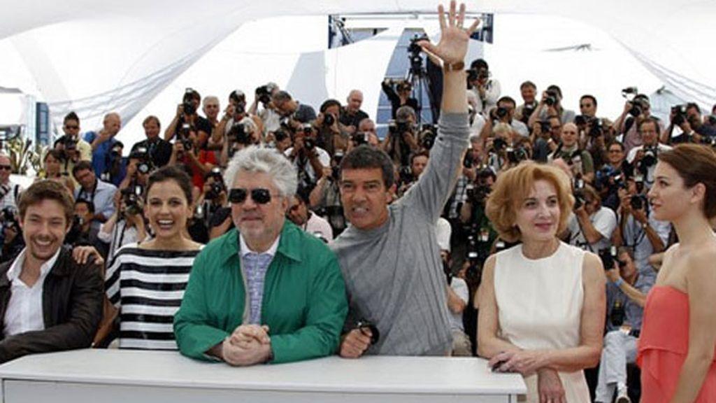 El equipo de 'La Piel que Habito', última película de Pedro Almodóvar