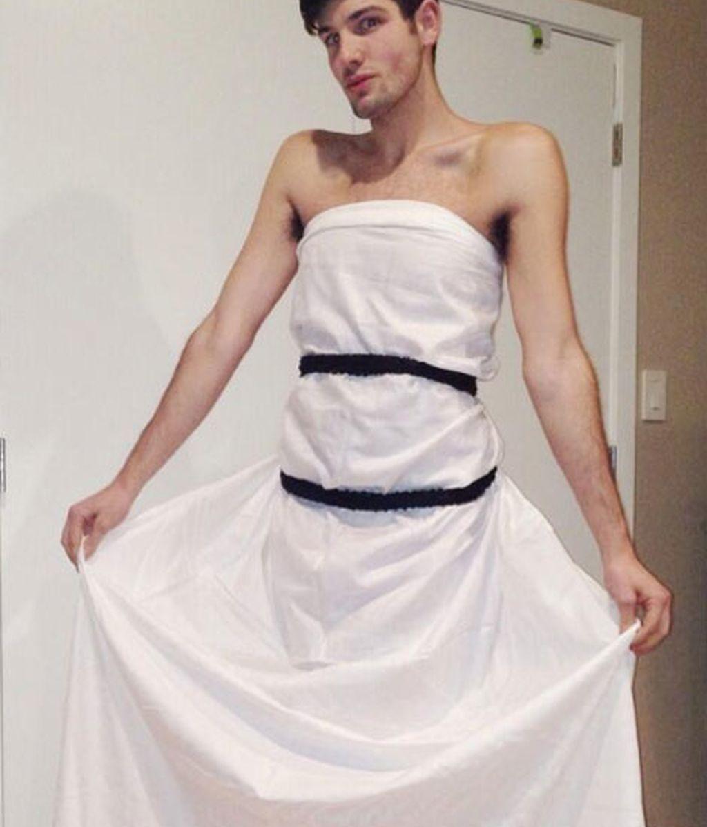 El vestido de Jennifer Lawrence causa furor en Twitter