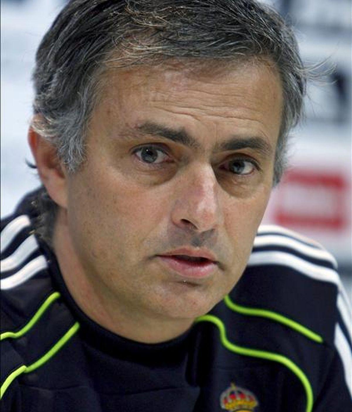 El entrenador del Real Madrid, el portugués José Mourinho. EFE/Archivo