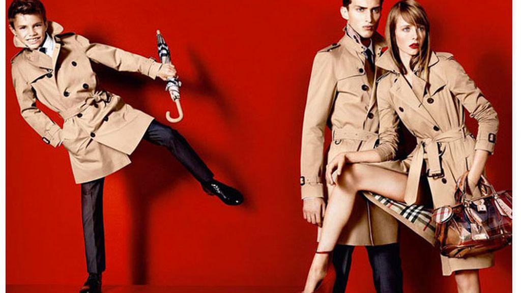 Romeo Beckham, de tal palo tal modelo
