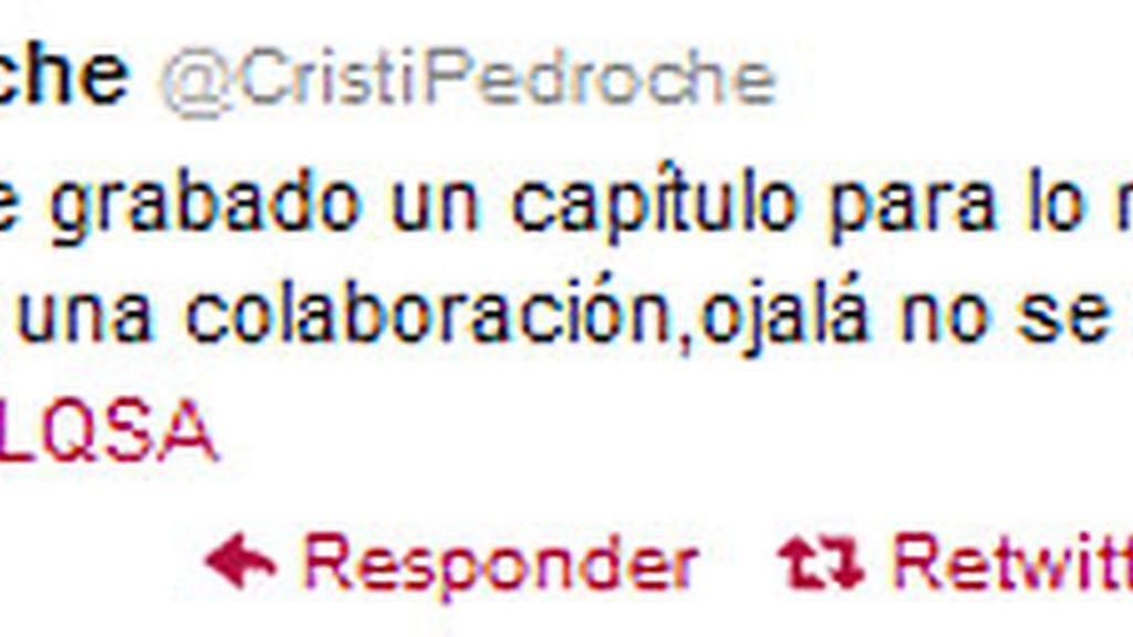 Twitter Cristina Pedroche