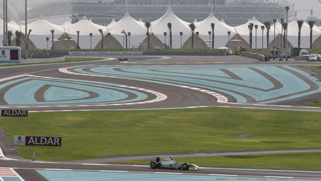 Jenson Button, en los primeros libres