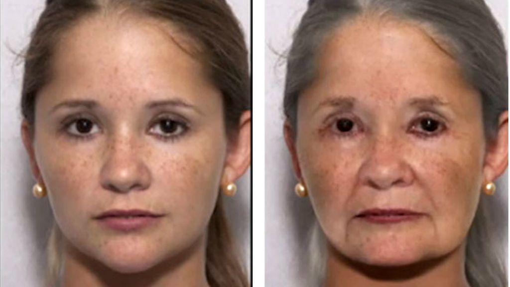 técnica de reconocimiento facial,cómo vas a envejecer,programa de reconocimiento facial