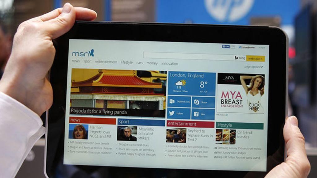 HP amplía su portfolio de tablets