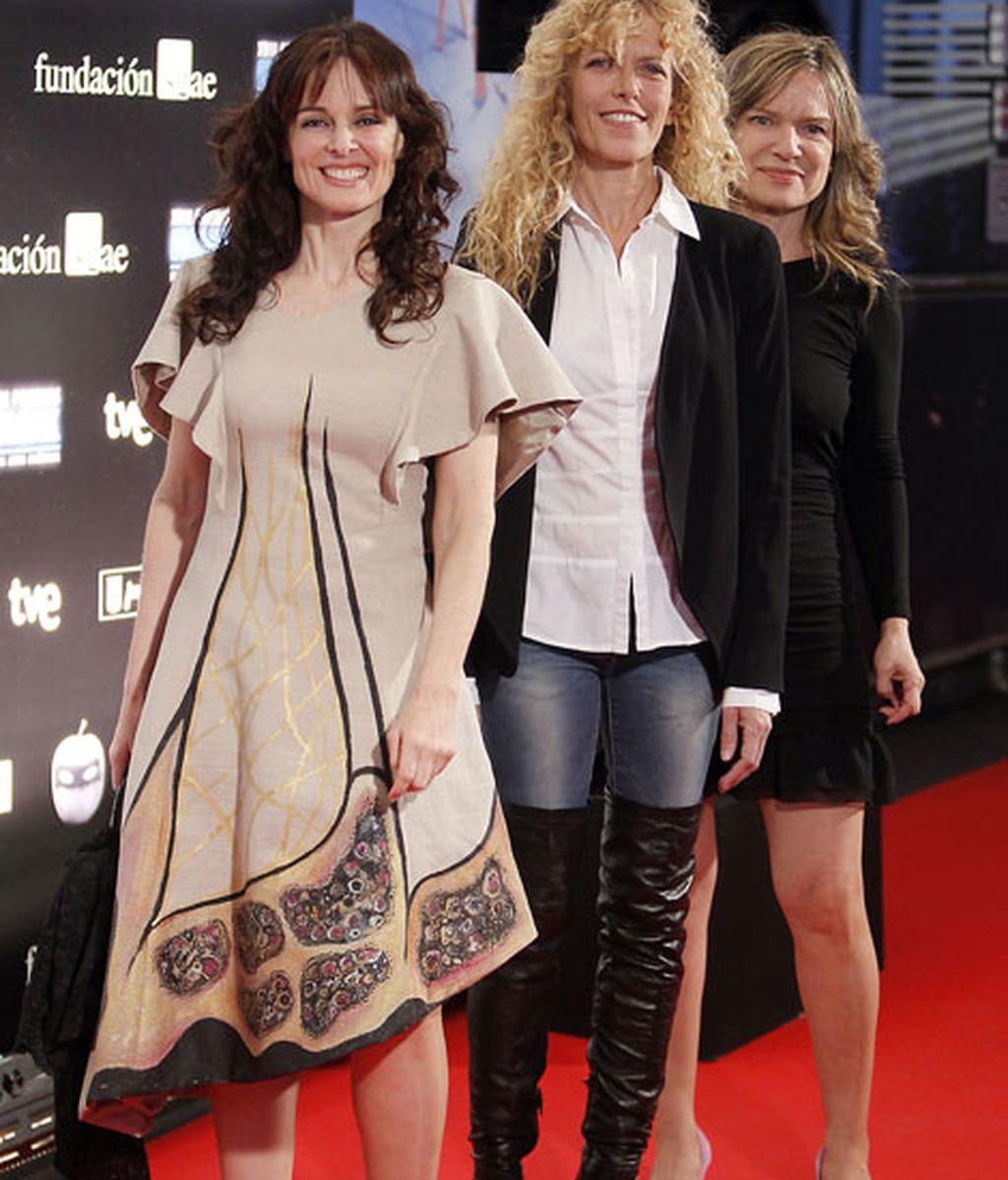 Las actrices Silvia Marsó y Carmen Conesa