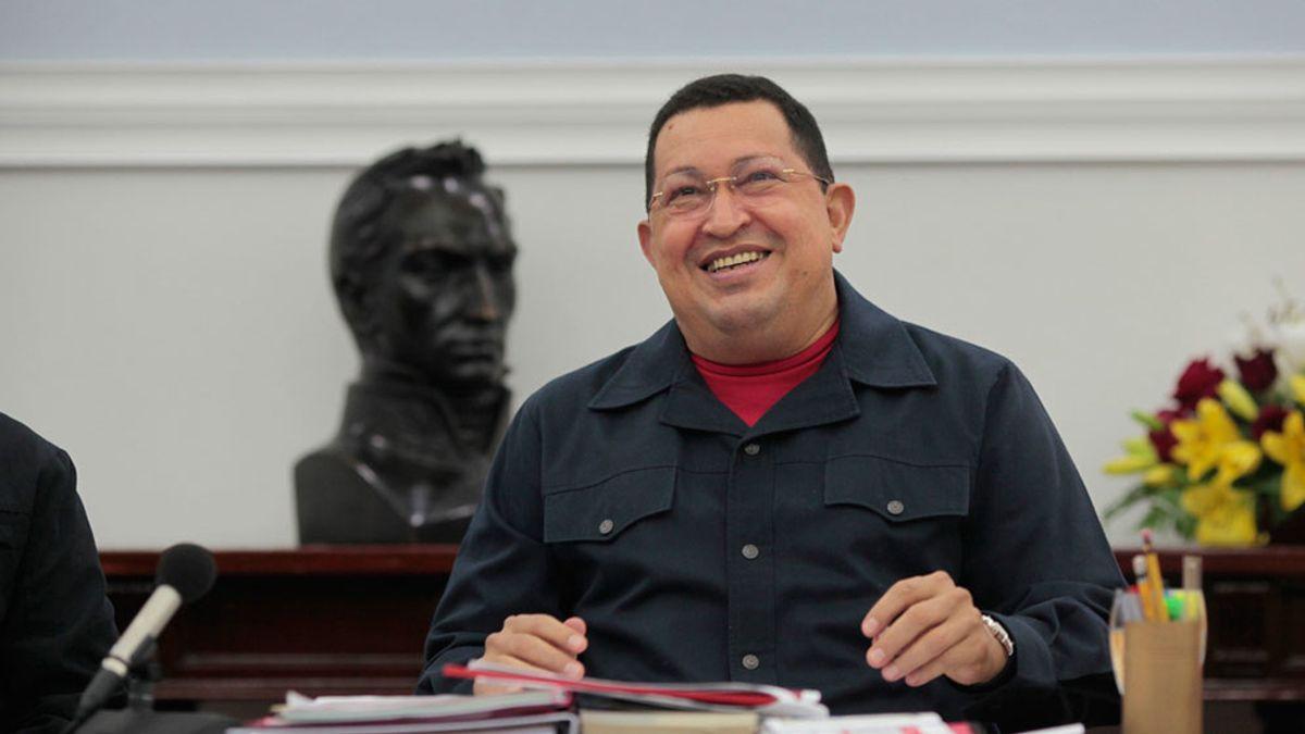 Chavez preside el Consejo de Ministros
