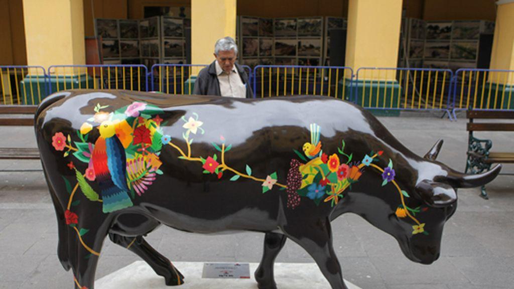 Perú ya tiene su 'Cowparade'