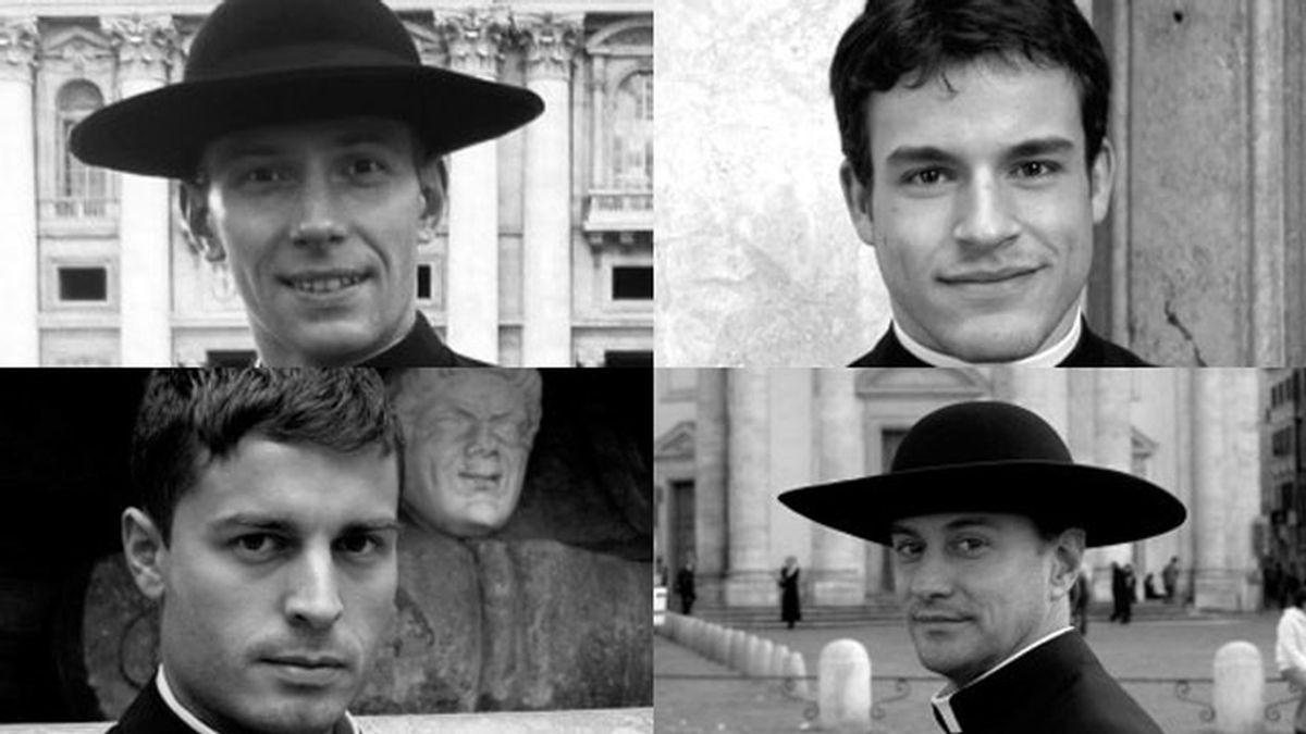 Los curas mas guapos del vaticano en un calendario