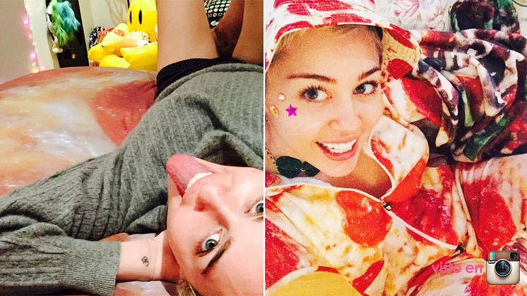 Miley Cyrus pizza