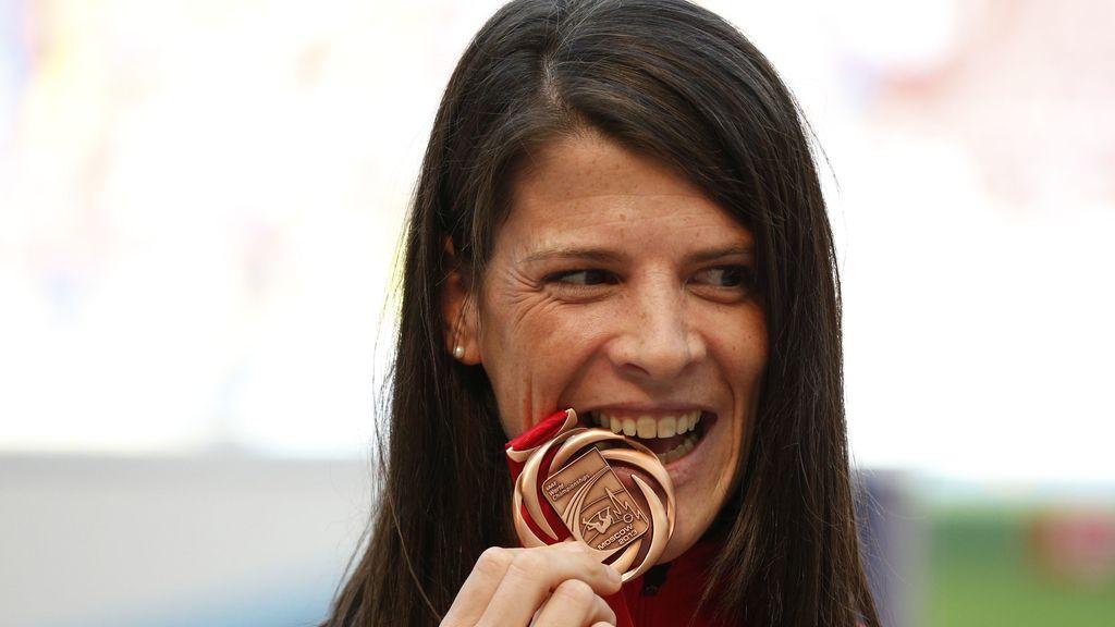 Ruth Beitia se cuelga el oro en salto de altura