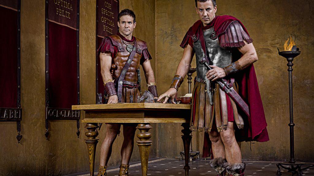 Claudius Gabro será el encargado de acabar con la rebelión de los esclavos
