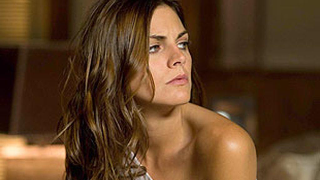 Amaia durante el rodaje del videoclip