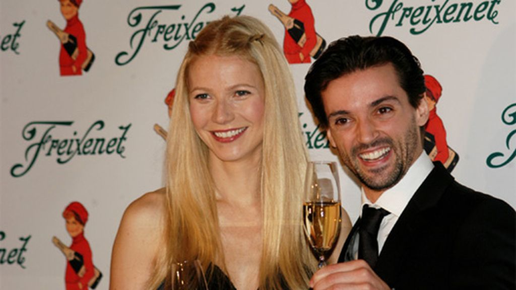 Gwyneth Paltrow y Ángel Corella (2006)