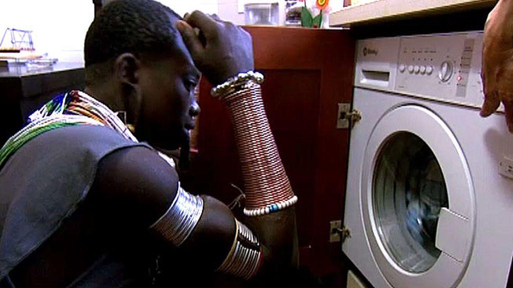Lo más sorprendente: la lavadora