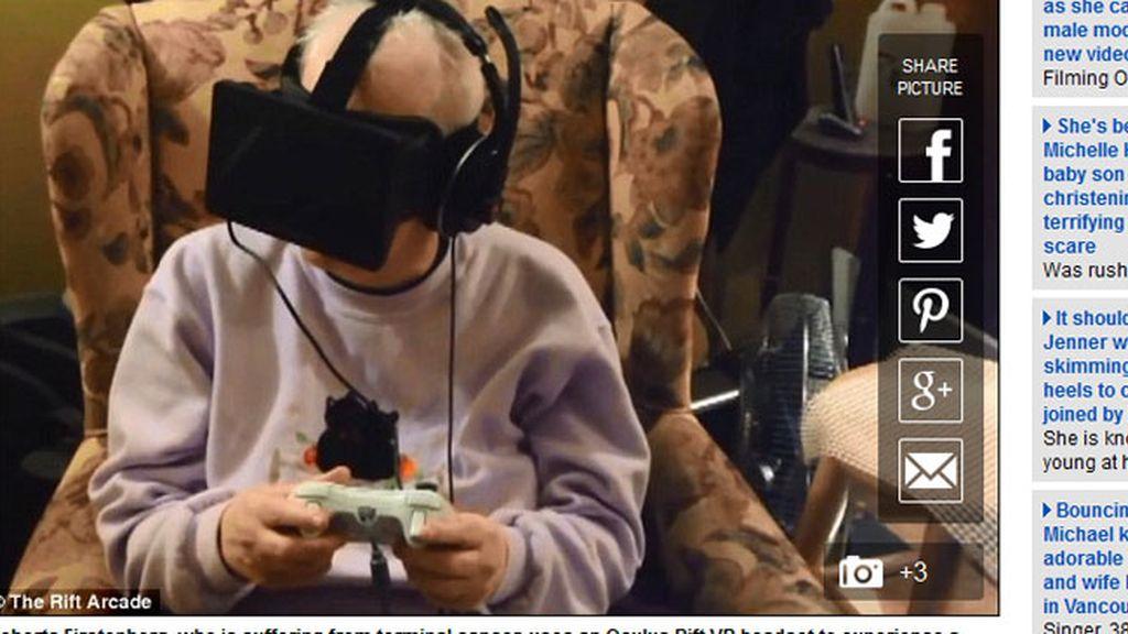 Una enferma de cáncer cumple su sueño gracias a unas gafas de realidad virtual