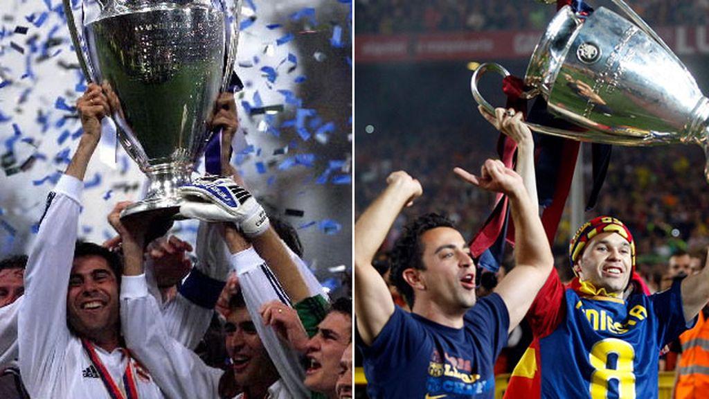La Champions, terreno español