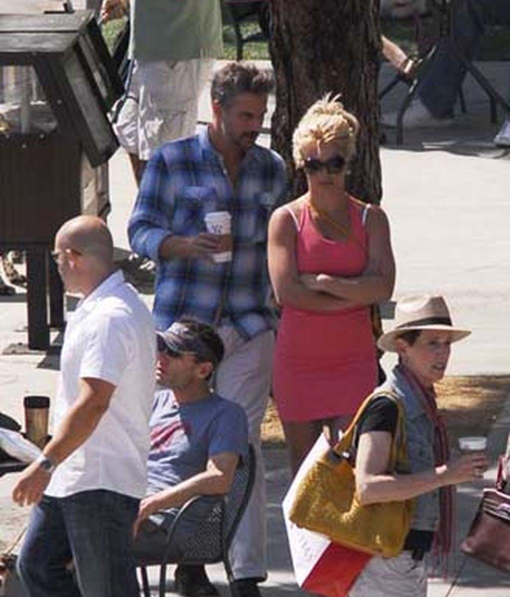 Britney Spears, en Santa Mónica