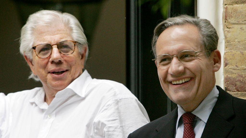 Carl Bernstein, y Bob Woodward