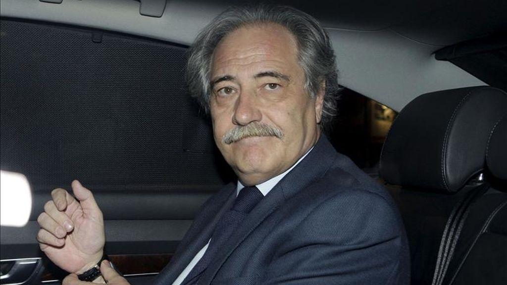 El ex presidente de Caja Castilla La Mancha (CCM) Juan Pedro Hernández Moltó. EFE/Archivo